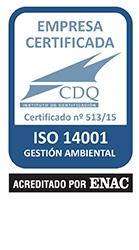 Certificacion UNE-EN ISO 14001