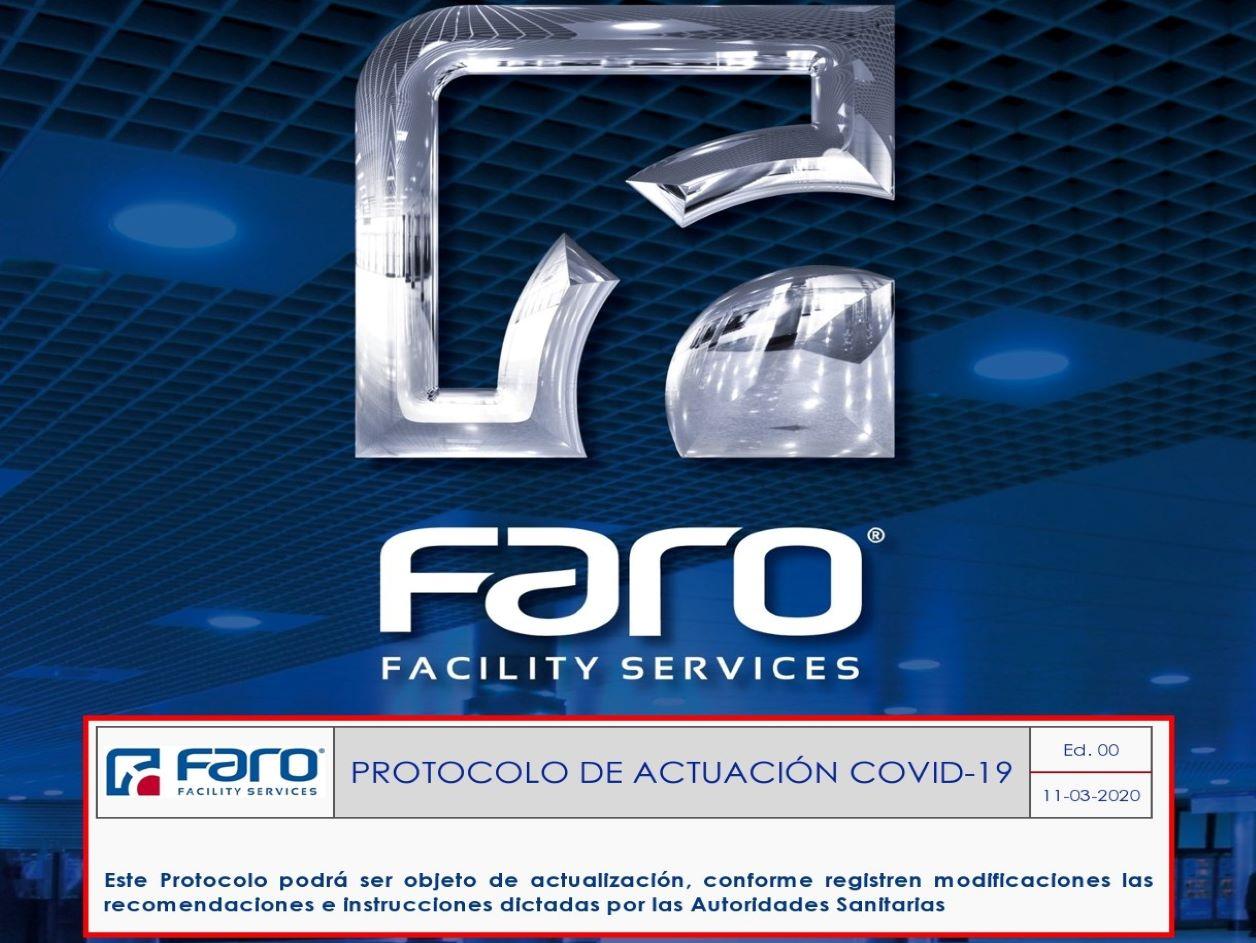 PROTOCOLO DE ACTUACIÓN COVID-19 FARO FACILITY SERVICES